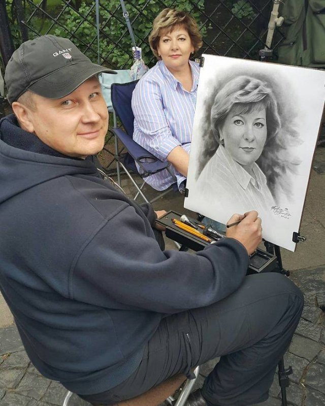 Beautiful Realistic Portraits By A Russian Artist