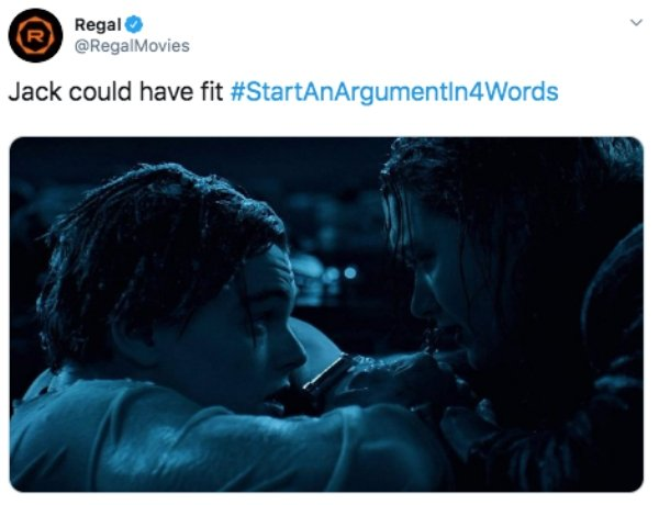 Start An Argument In 4 Words