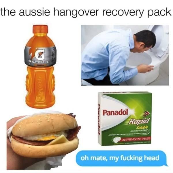 Aussie Food Memes