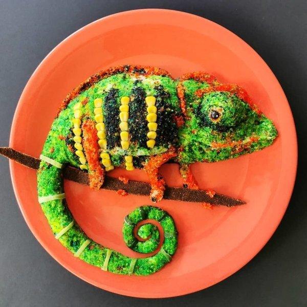 This Food Looks Like Art