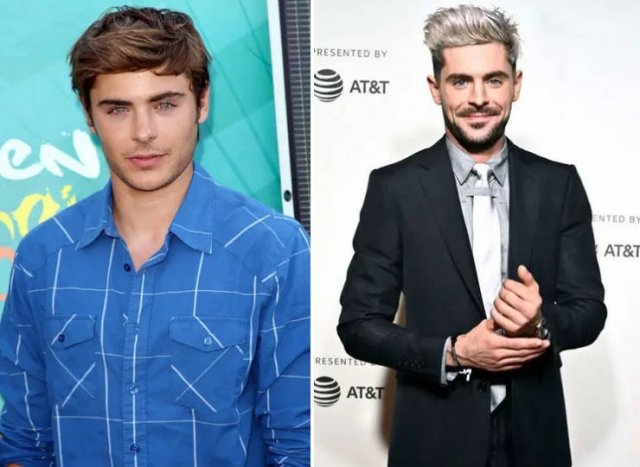 Celebs In 2009 Vs. 2019, part 2019