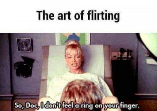 Flirting Fails