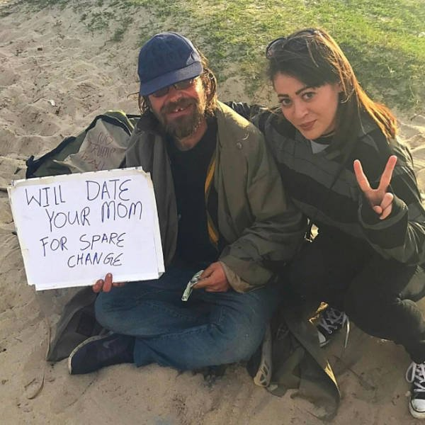 Handmade Signs From Homeless People
