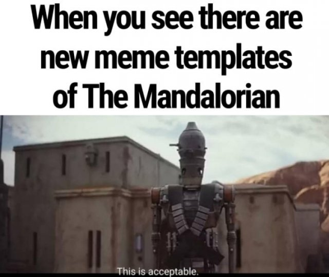Join The Force Of 'The Mandalorian' Memes