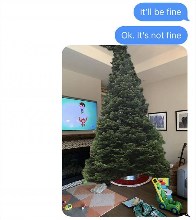 Dad's Christmas Tree Shopping Gone Wrong