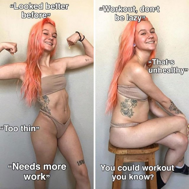 Health Blogger Shows Instagram vs Reality Photos