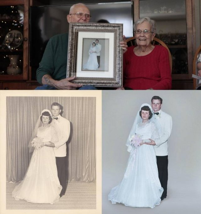 Then And Now Photos: Timeless Moments