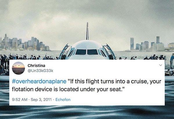 Overheard On A Plane