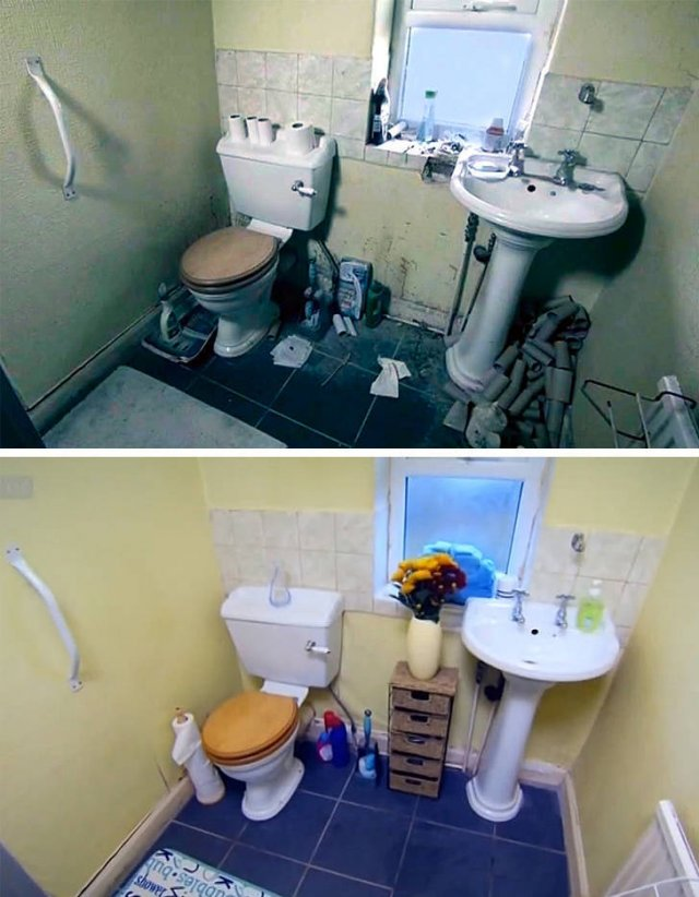 Cleaning: Before And After Pictures