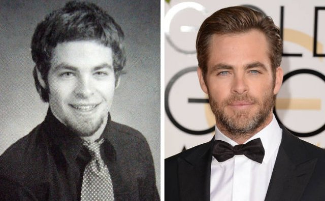 Male Celebs Then And Now