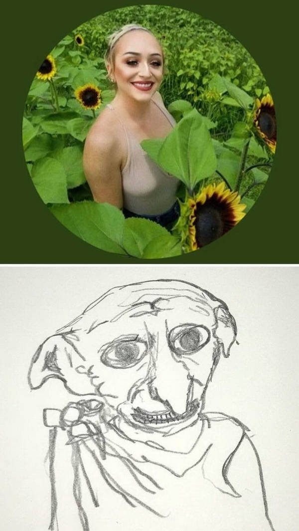 Artist Turns People Into Hilarious Characters