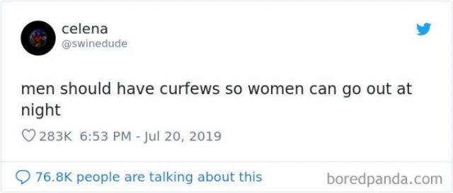 Women Tweet About Men