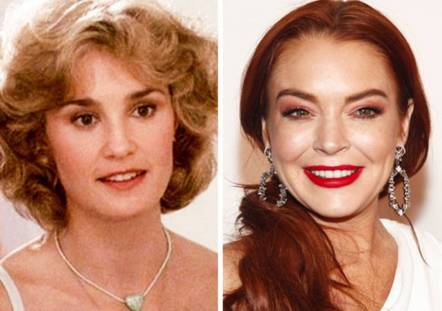 Same Age Celebrities Of The Past And Present Days