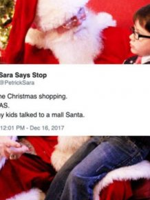 Funny Tweets About Santa