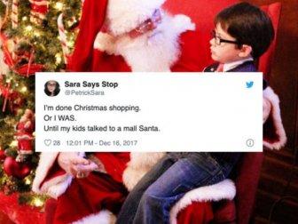 Funny Tweets About Santa