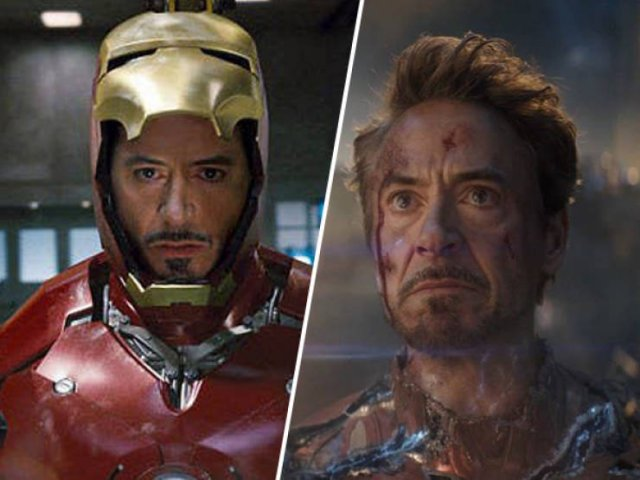 Superheroes In Their First Movies And Now