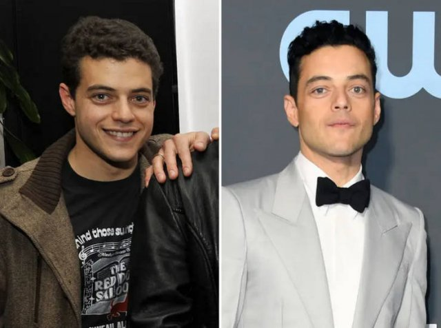 10-Year Challenge: Male Celebs Then And Now