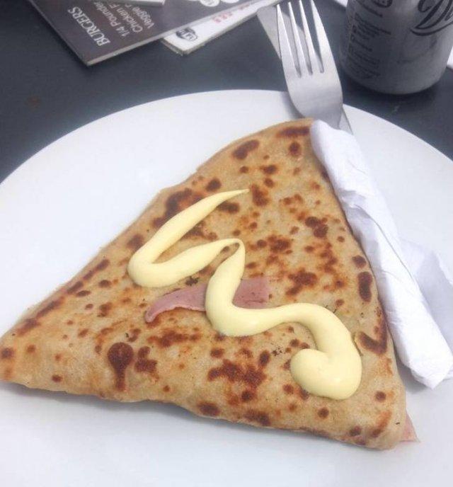 Food Serving Gone Wrong