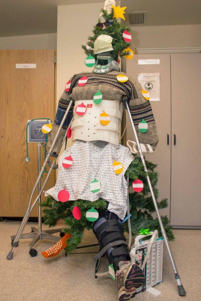 Hospital Christmas Decorations