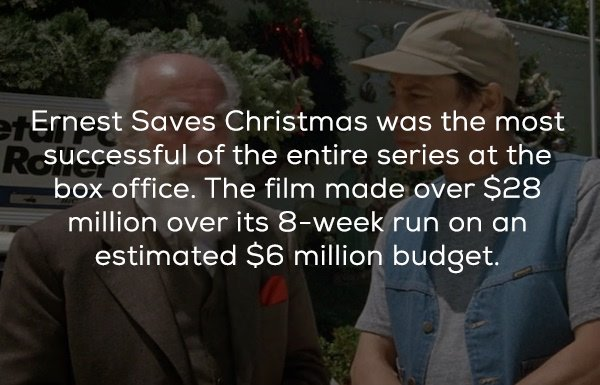 Facts About The Movie 'Ernest Saves Christmas'
