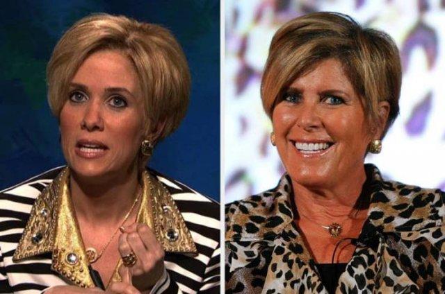 Amazing Transformations Of SNL Actors