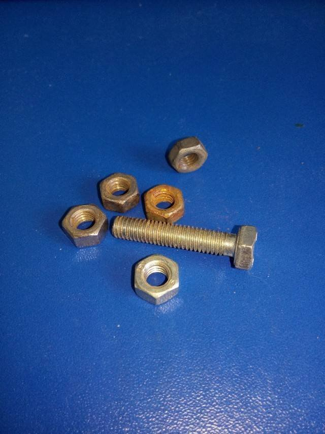 Creative Idea With Nuts And Bolts