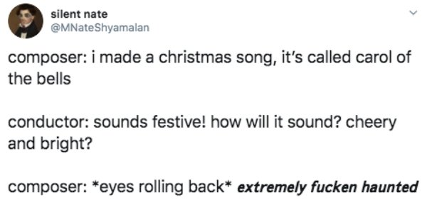 Tweets About Christmas