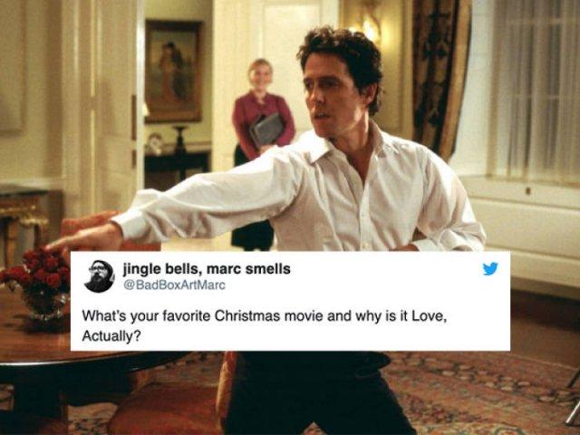 Christmas Movie Tweets