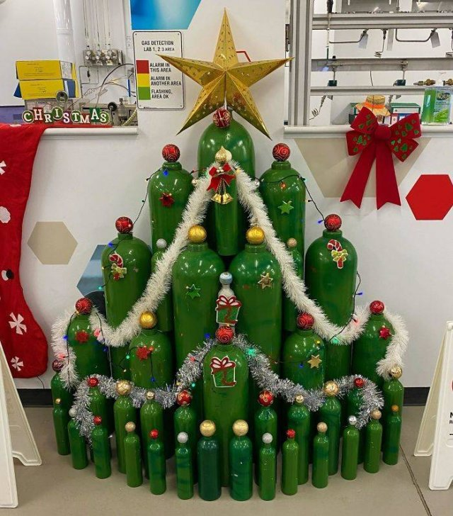 Creative Christmas Trees, part 2