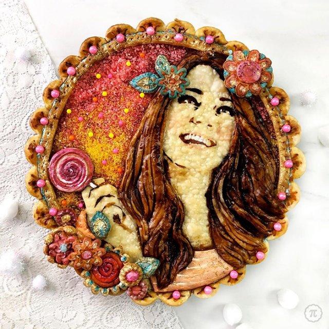 Creative Holiday Pie Art