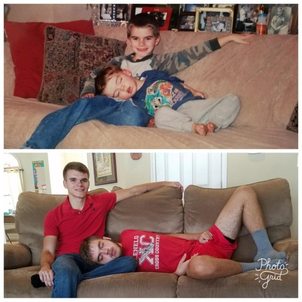 Then And Now: Warm Memories