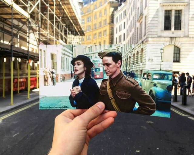 Thomas Duke Shows Off The Movie Scenes In Real Life Locations