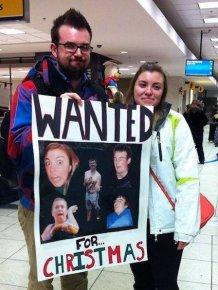 Hilarious Airport Pickup Signs
