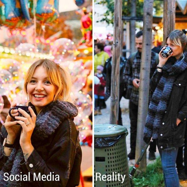 Kim Britt Shows The Truth Behind Perfect Photos