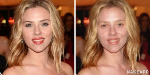 Brilliant App Filter That Removes Makeup