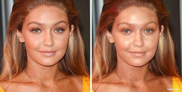 Brilliant App Filter That Removes Makeup