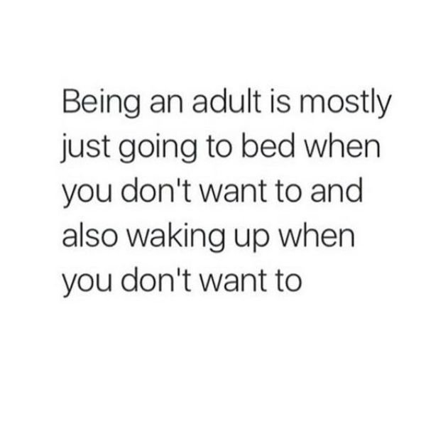 Welcome To Adult World