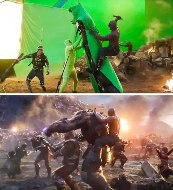 CGI: Behind-The-Scenes Shots