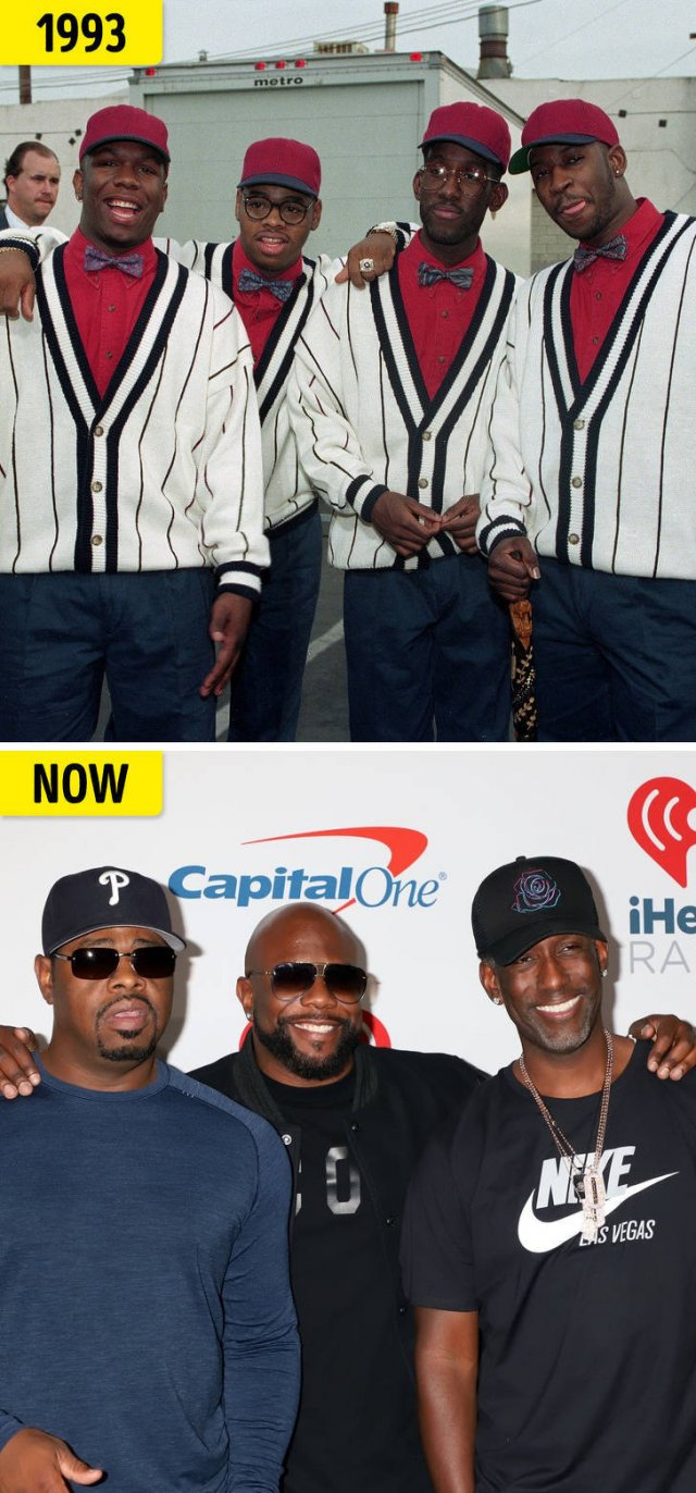 Then And Now: Pop Singers From The '90s And '00s