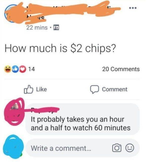 Sarcastic Comments, part 3