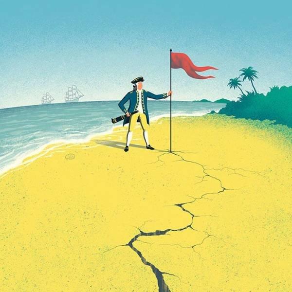 Davide Bonazzi Illustrates Modern Society Problems