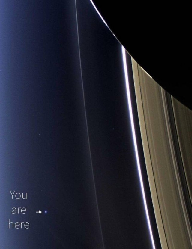 Pure Beauty Of Space