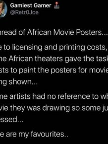 Hilarious African Bootleg Movie Posters