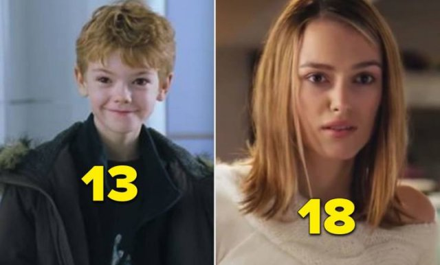 Sometimes Movie Age Gaps Differ From Real-Life Age Gaps