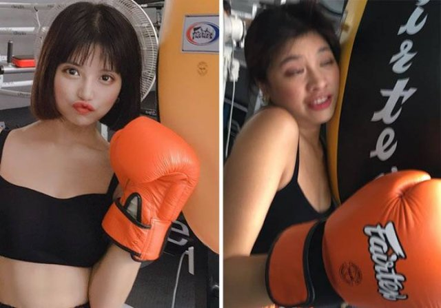 Thai Model Shows The Truth Behind Perfect Photos