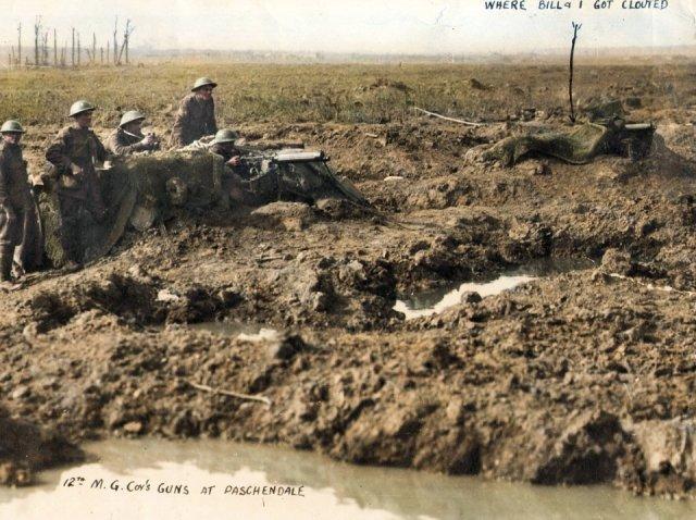 WW1 Colorized Photos