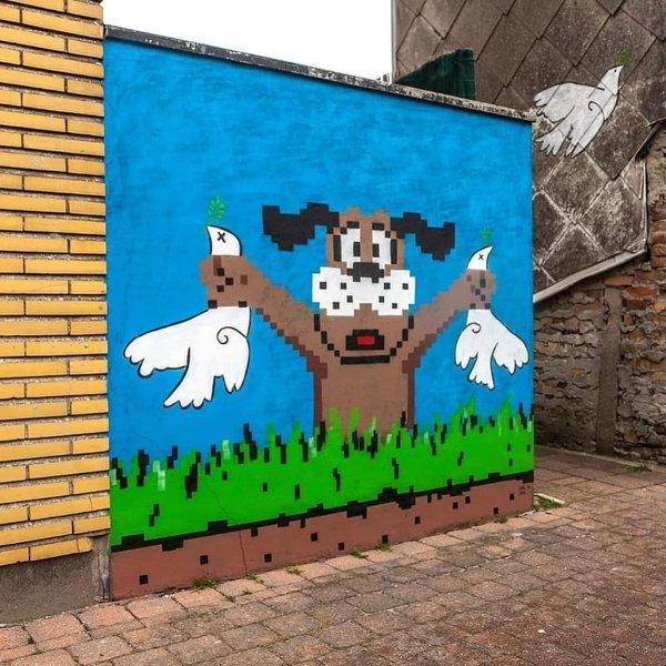 Street Art By OakOak, part 2