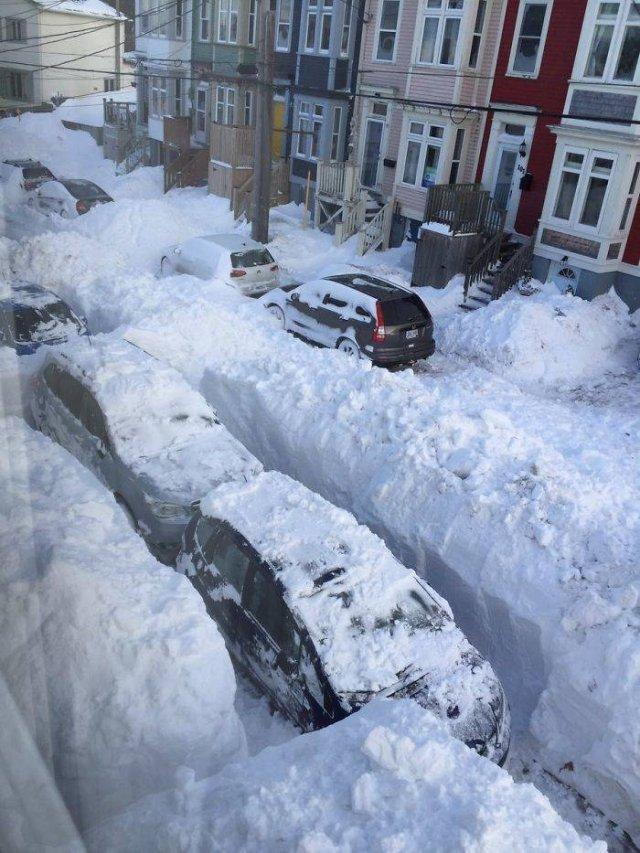Winter In Canada