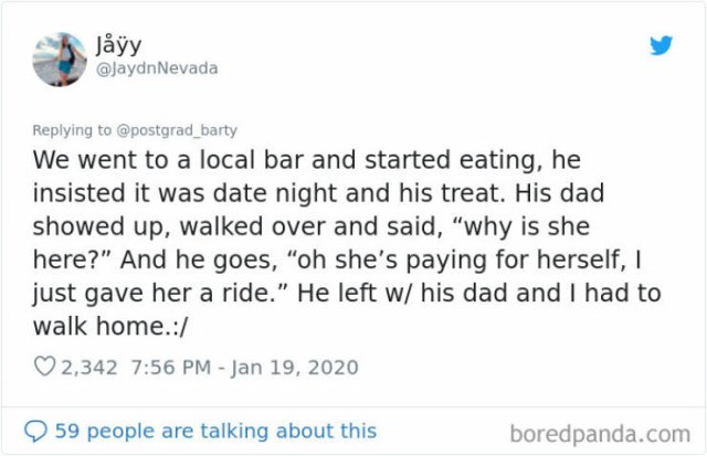 People Share Stories About Weird Datings