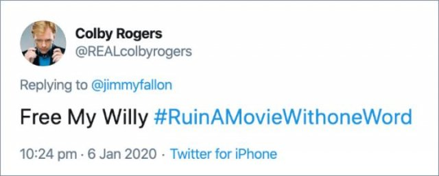 How To Ruin A Movie Title With One Word